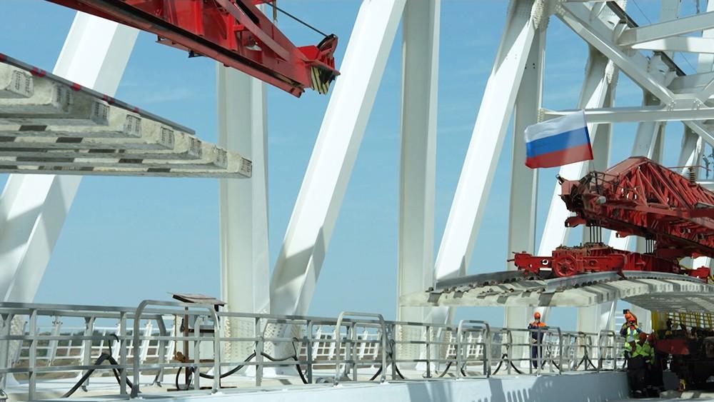 Прокладка с двух берегов Керченского пролива