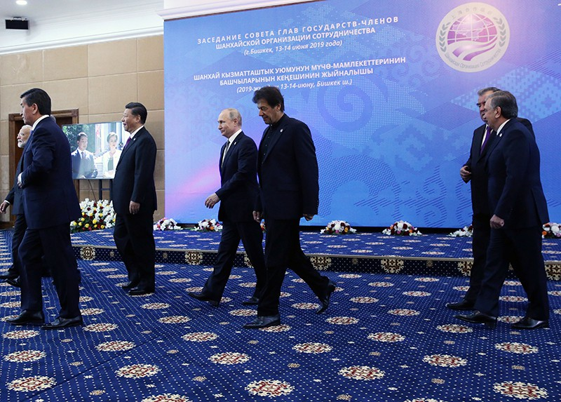 Заседание Совета глав государств – членов ШОС в Бишкеке