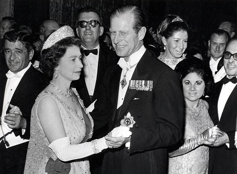 Елизаветта II и принц Филипп. 1967 год