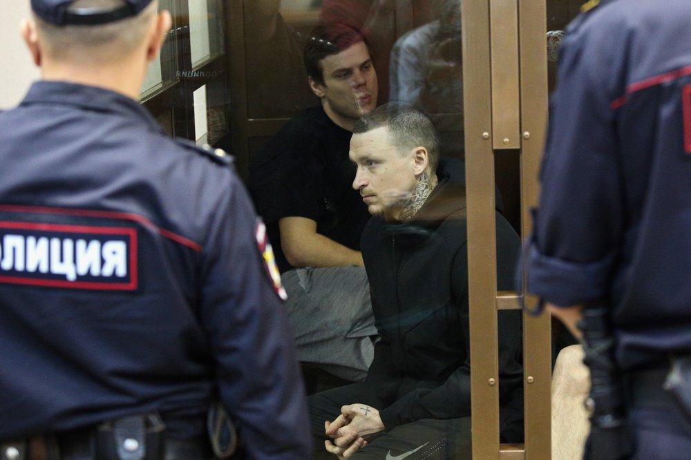 Рассмотрение апелляции на приговор по делу о хулиганстве футболистов Александра Кокорина и Павла Мамаева