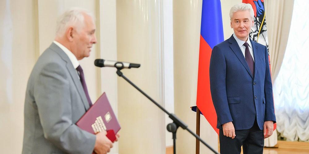 Сергей Собянин и Леонид Рошаль