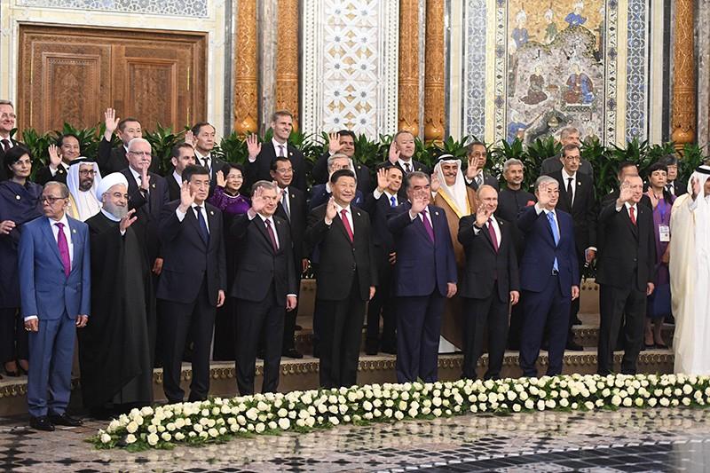 Рабочий визит Владимира Путина в Таджикистан для участия в СВМДА