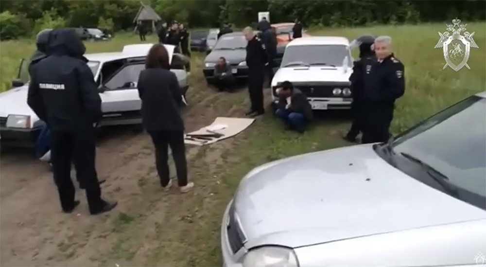 Полиция на месте массовой драки под Пензой
