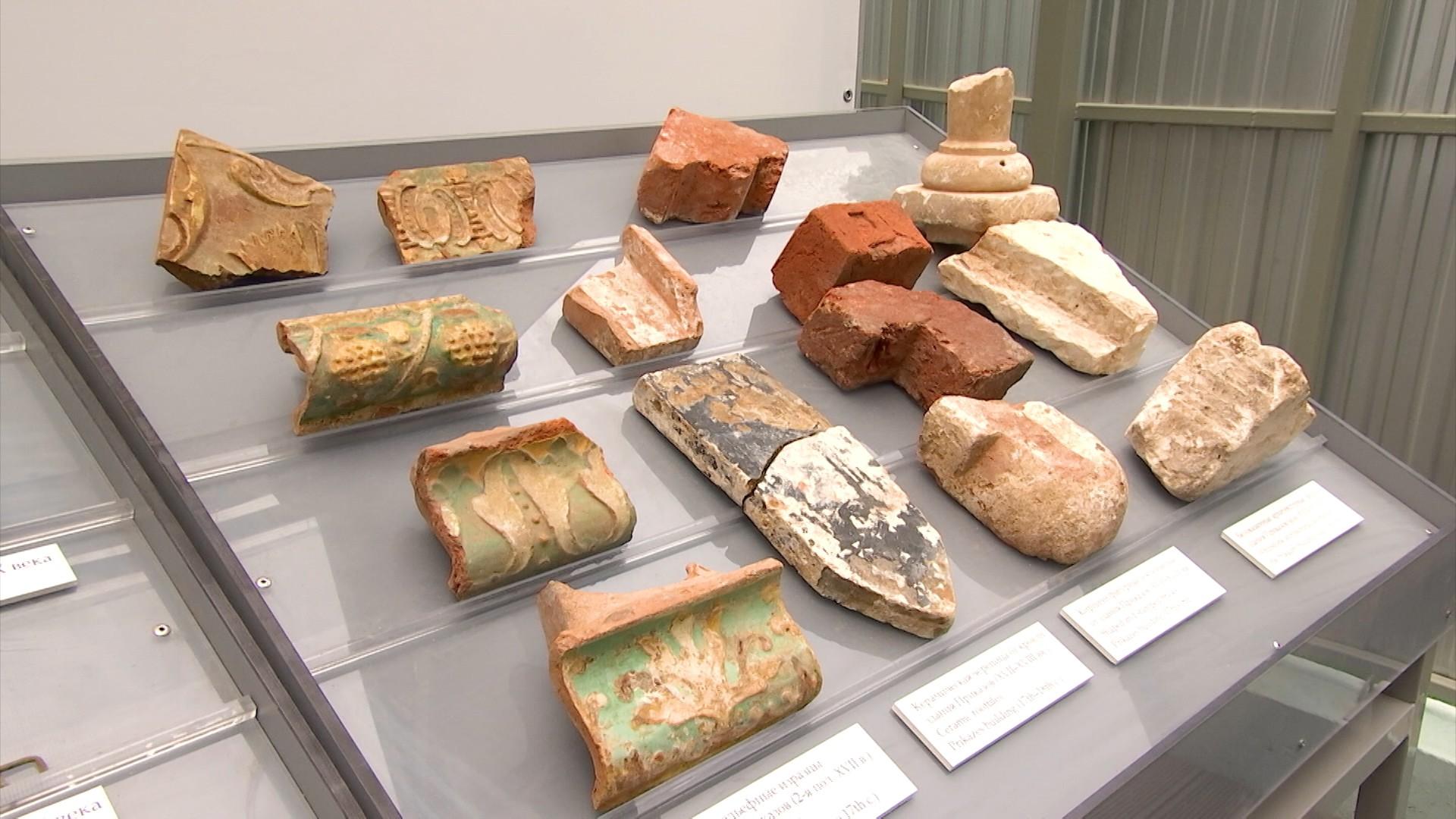 Археологические находки на территории Кремля