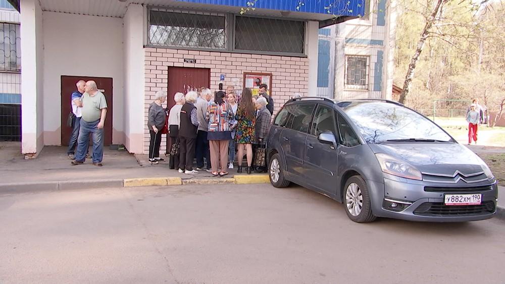 Жители дома на Ярославском шоссе