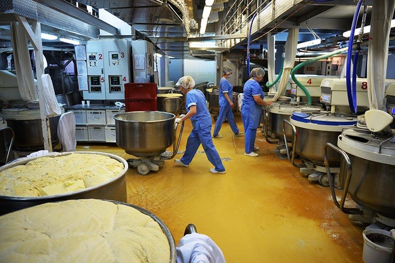 Сотрудники хлебозавода