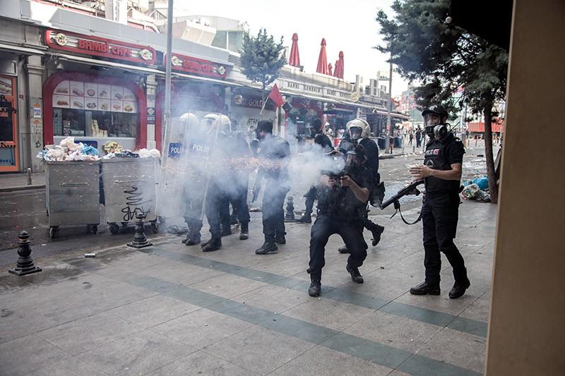 Полиция Стамбула