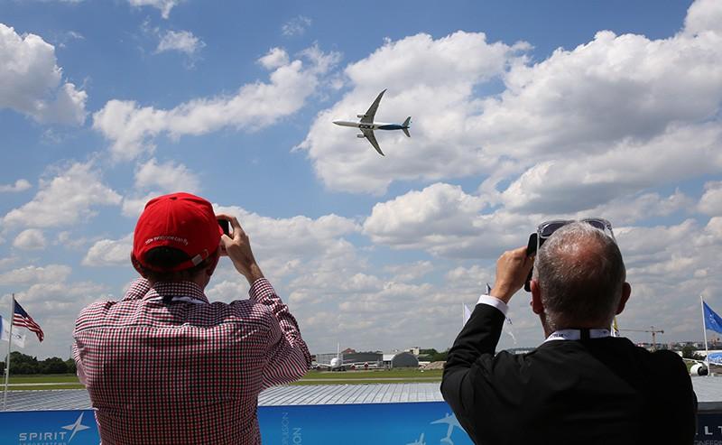 Международный авиасалон в Ле-Бурже