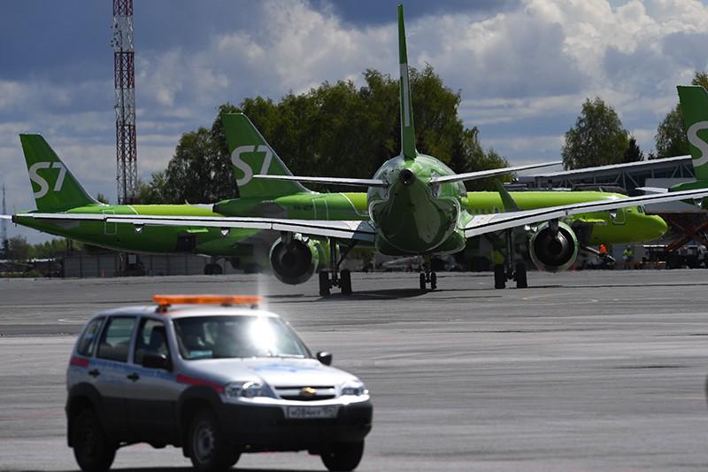 Самолеты авиакомпании S7 Airline