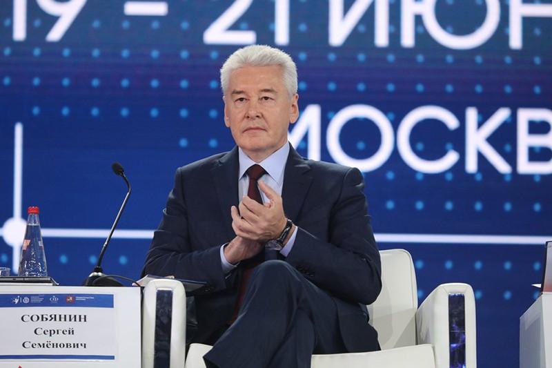 Сергей Собянин на открытии Третьего Форума социальных инноваций регионов