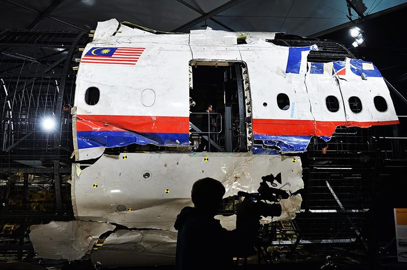 Обломки Boeing 777 Malaysia Airlines (рейс MH17)
