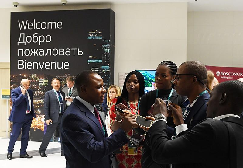 """Участники конференции """"Россия - Африка"""" в Radisson Royal & Congress Park"""