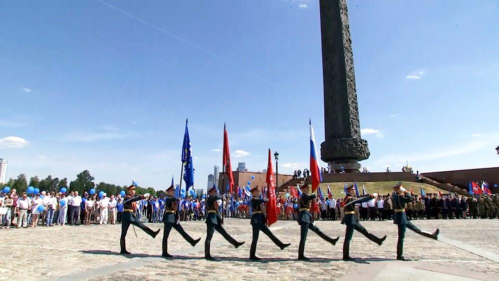 Автопробег к 75-летию освобождения Беларуси