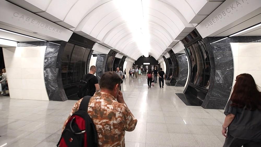 """Станция метро """"Савеловская"""""""