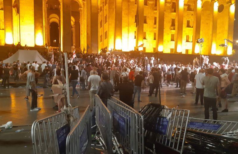 Беспорядки в Тбилиси