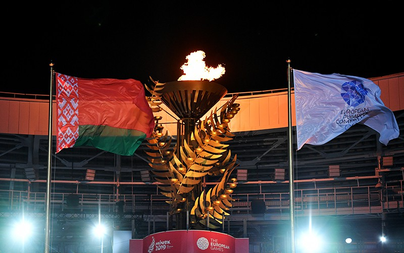 Церемония открытия II Европейских игр в Минске