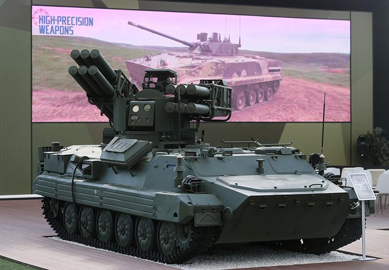 """Зенитный ракетный комплекс (ЗРК) """"Сосна"""""""
