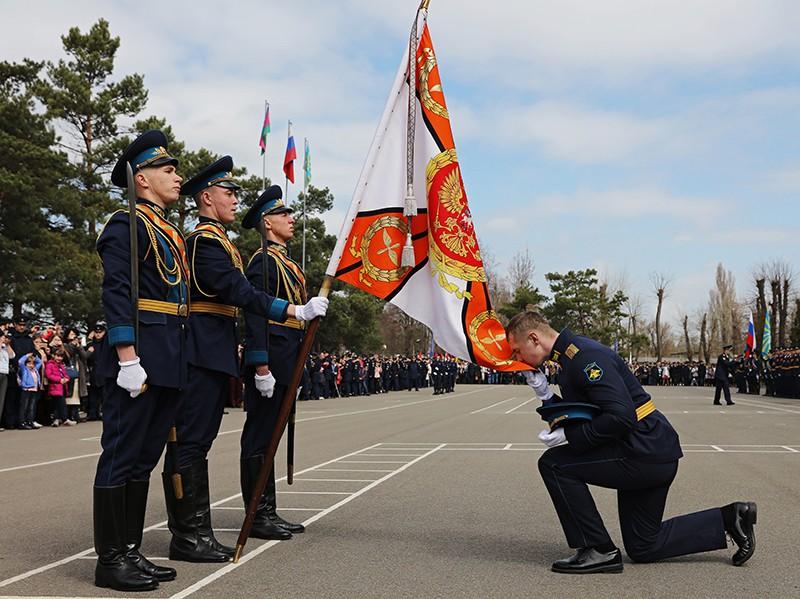 Выпуск офицеров