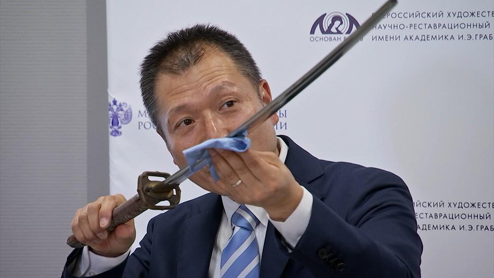 Реставрация японского меча
