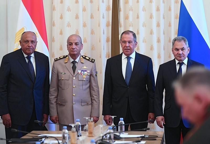 Встреча министров иностранных дел и обороны России и Египта