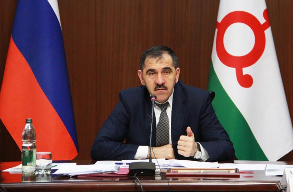 Глава Ингушетии Юнусбек Евкуров