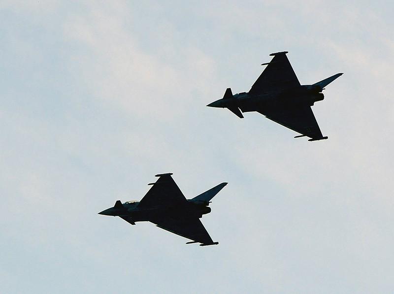 Истребители Eurofighter ВВС Германии