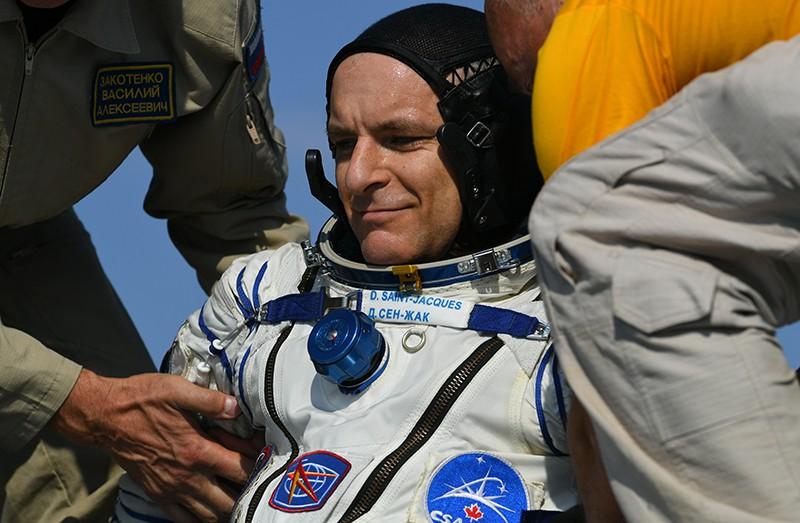 Астронавт Канадского космического агентства Давид Сен-Жак (Канада)