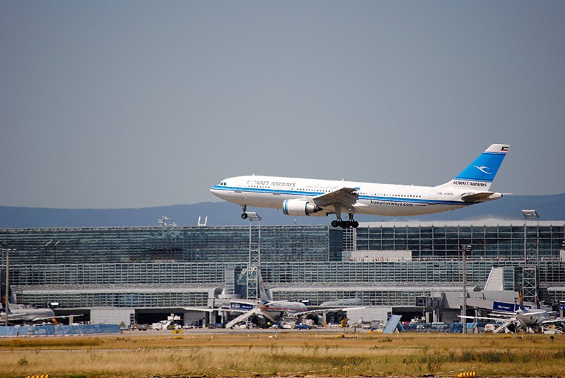 Самолет авиакомпании Kuwait Airways