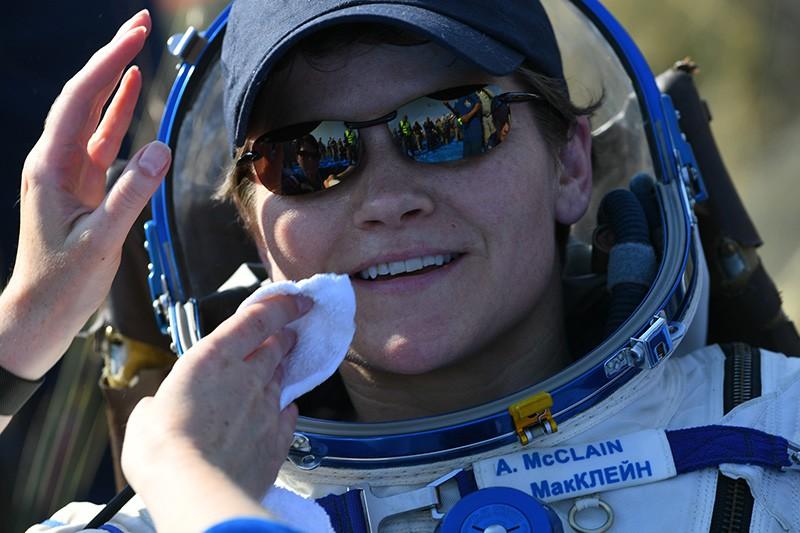 Астронавт НАСА Энн МакКлейн (США)
