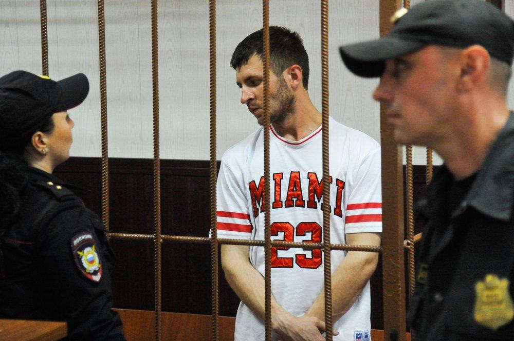 Избрание меры пресечения предполагаемому серийному отравителю прохожих в Москве Мурату Сабанову