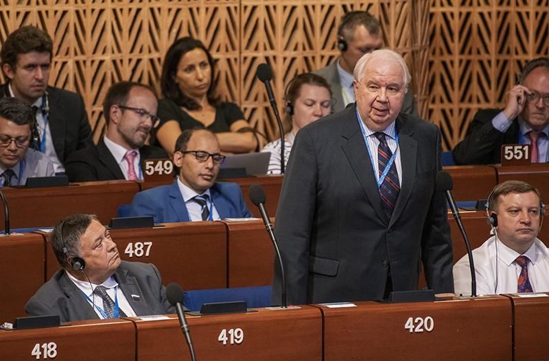 Сергей Кисляк на заседании ПАСЕ