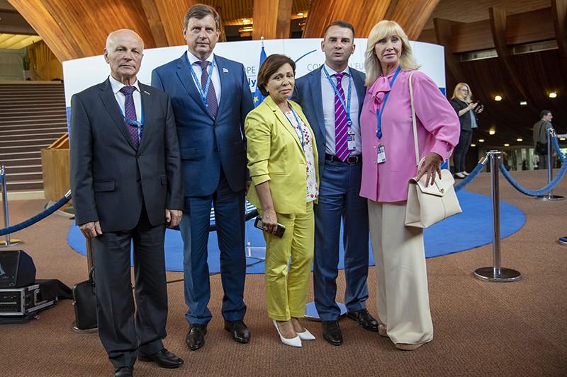 Российские делегаты в Парламентской ассамблее Совета Европы