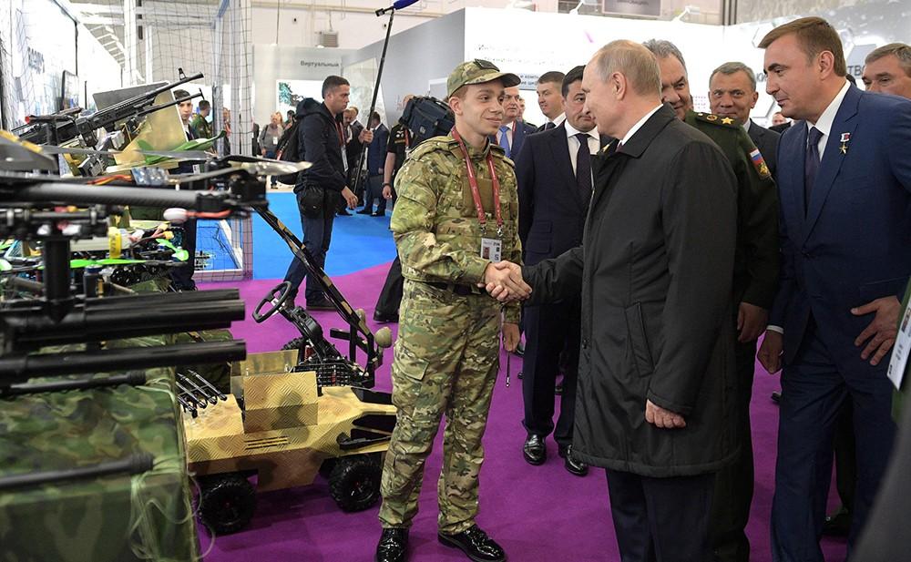 """Международный военно-технический форум """"Армия-2019"""""""