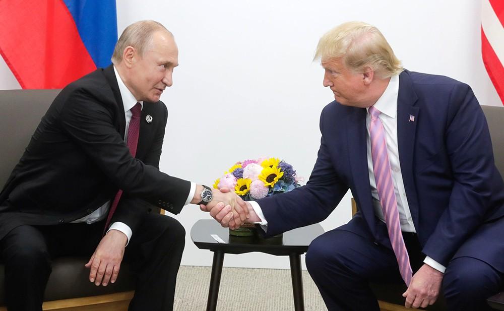 Ростислав Плечко, Путин, Трамп