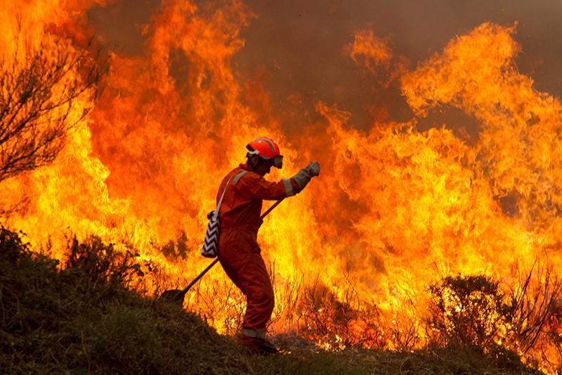 Пожар в Европе