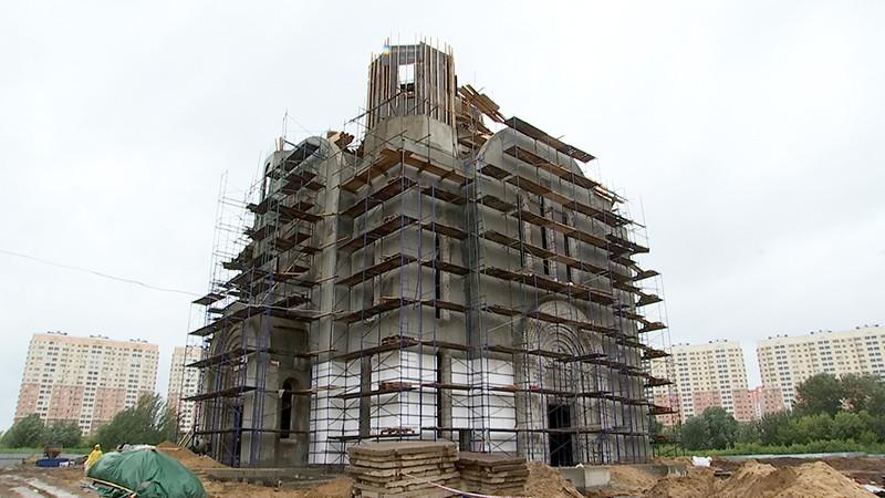 Cтроительство храма в честь Покрова Пресвятой Богородицы