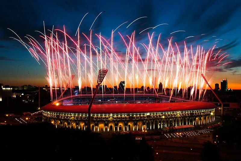 Церемония закрытия II Европейских игр в Минске