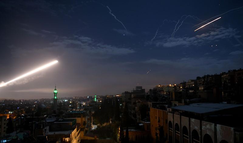 Ракетный удар Израиля по Сирии