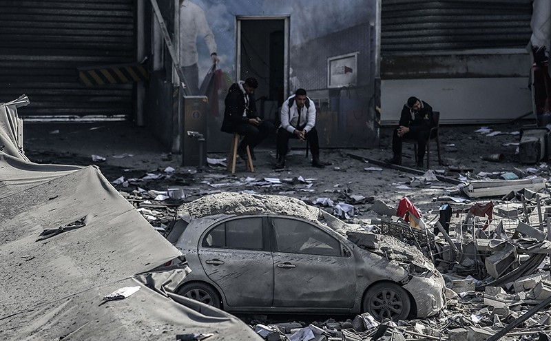Последствия ракетного удара Израиля по Сирии