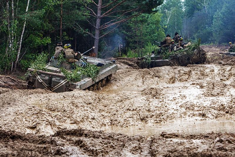 Военные учения на Украине