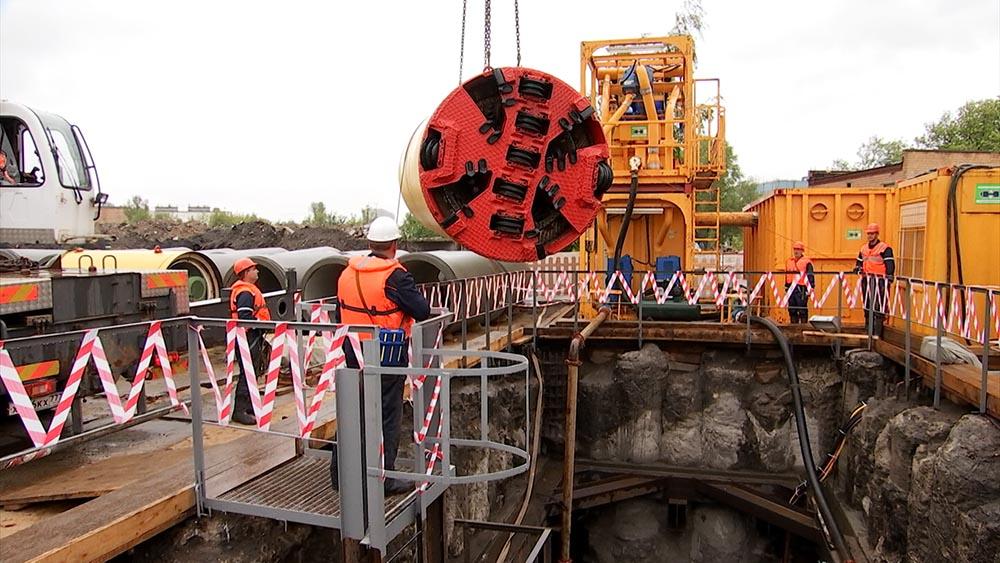 Реконструкция газопроода в Москве