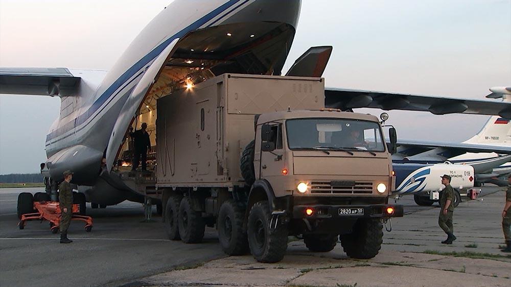 Переброска военных подразделений в Иркутскую область