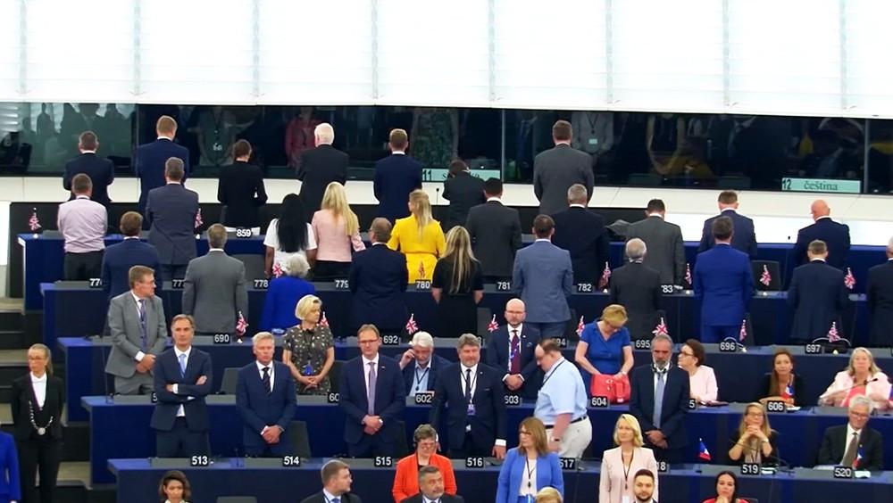 Первая сессия нового Европарламента