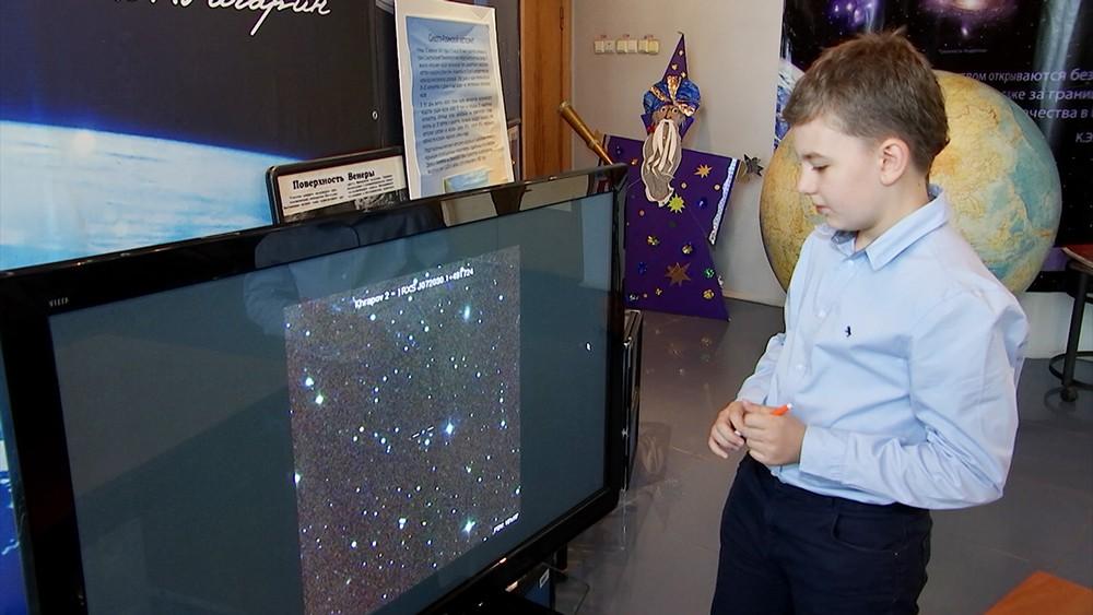 Юный астроном Борис Храпов