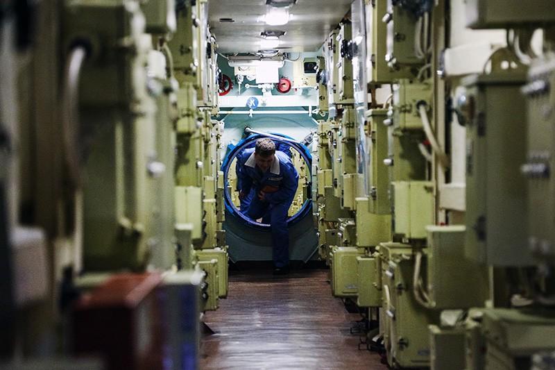 Члены экипажа подводной лодки