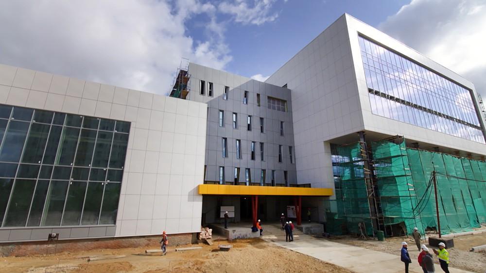 Строительство Центра современного пятиборья в Москве