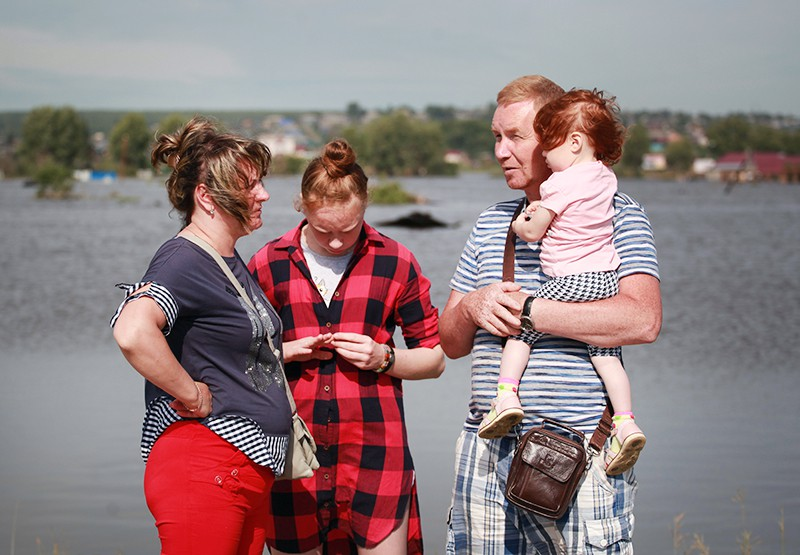 Жители пострадавшие от паводка в Иркутской области