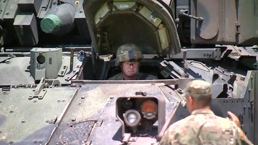 Боевая машина пехоты M2 Bradley армии США