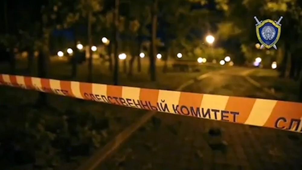 Оцепление следственного комитета Белоруссии