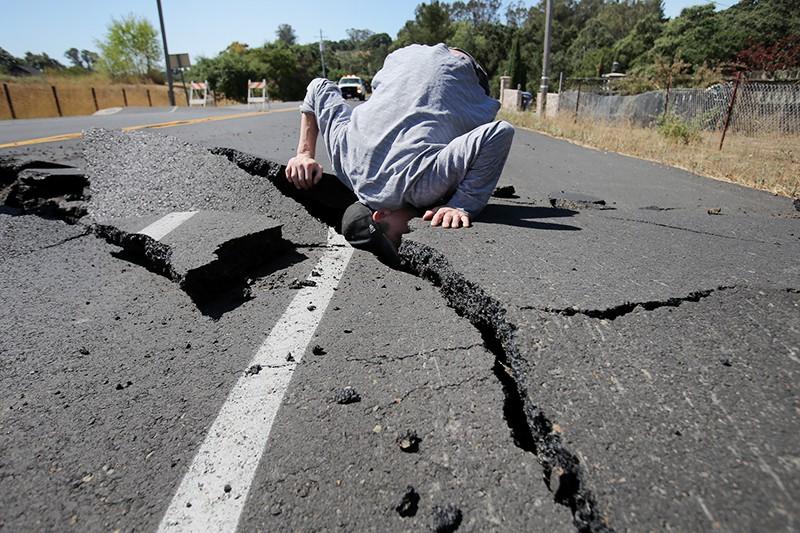 Последствия землетрясения в США
